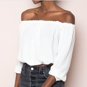 Brandy Melville maura top.